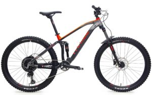 "Sepeda Gunung (MTB) Thrill Fervent T140 Elite 27.5"" - 2020"