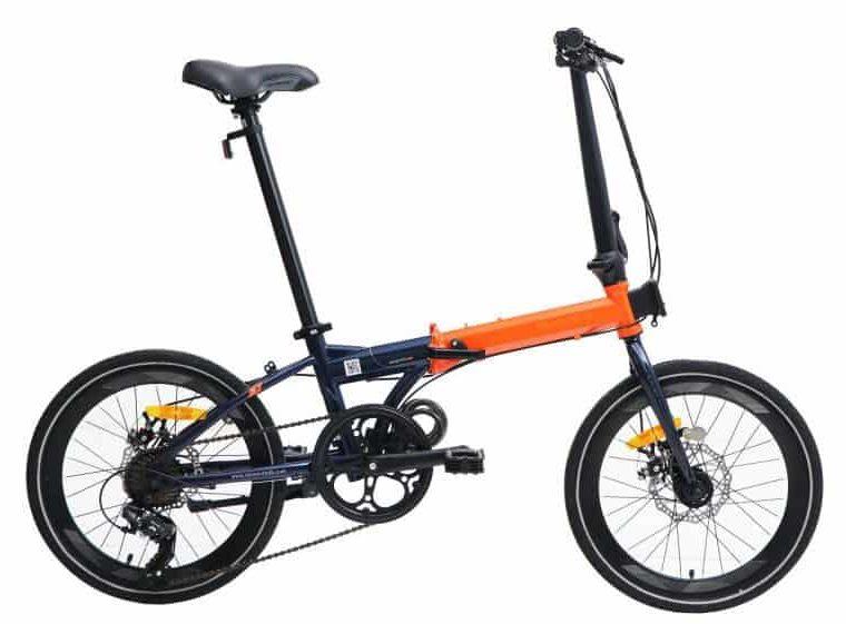 Sepeda Lipat (Folding Bike) FoldX 8 Speed