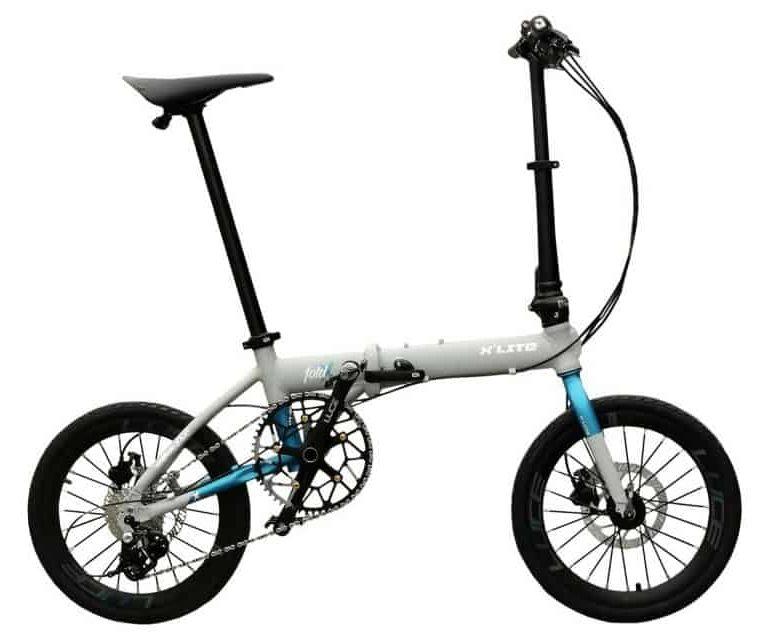 Sepeda Lipat (Seli) Element FoldX Lite 11 Sped