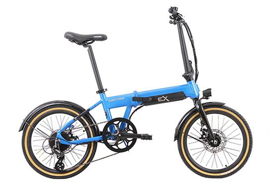 Sepeda Lipat Listrik (ebike) United EX -2020