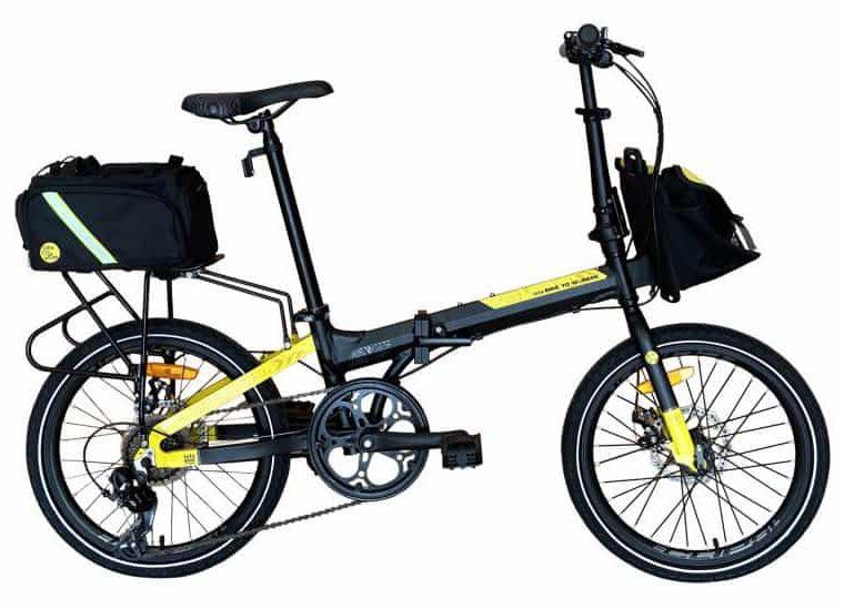 Sepeda Lipat Element Police B2W Edition