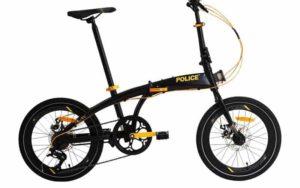 Sepeda Lipat Element Police Milan 8 Speed