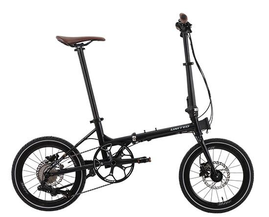 Sepeda Lipat United Black Horse X 2020