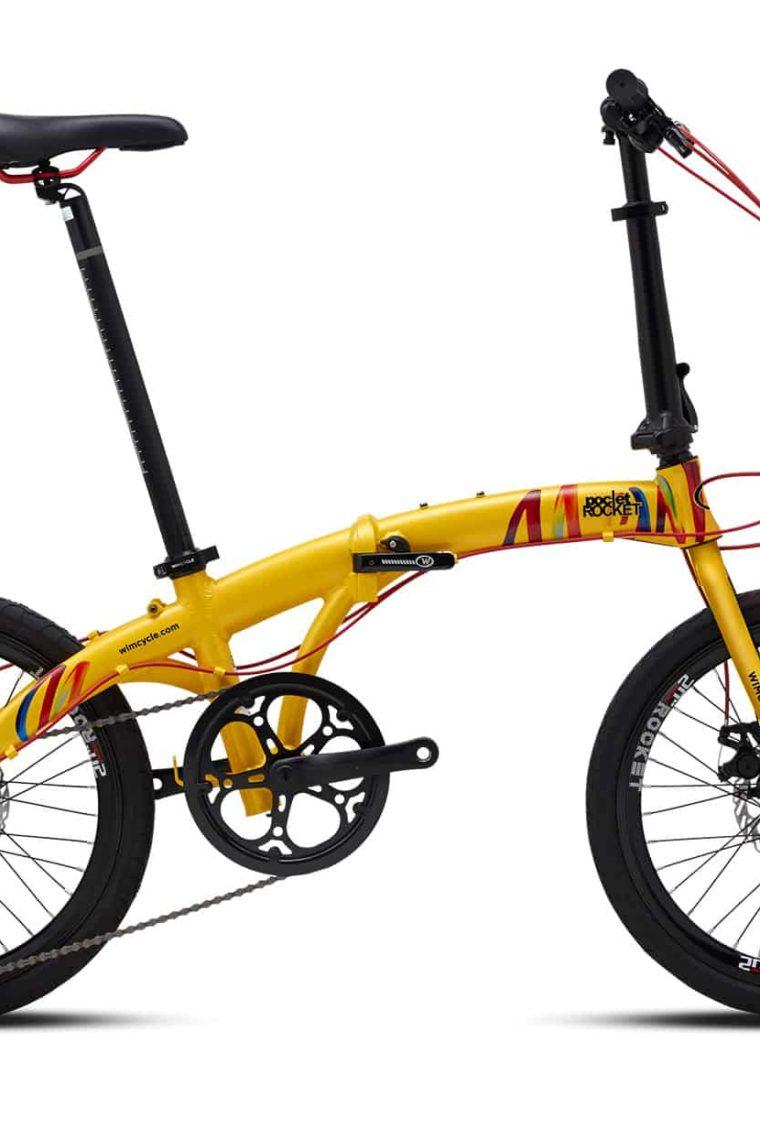 "Sepeda Lipat Wimcycle Pocket Rocket 20"""