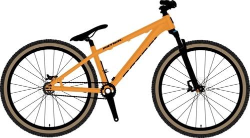 """Sepeda gunung Patrol DJ - Slope Style 26"""""""