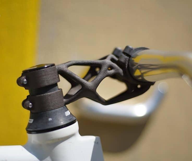Contoh stem sepeda hasil print 3D