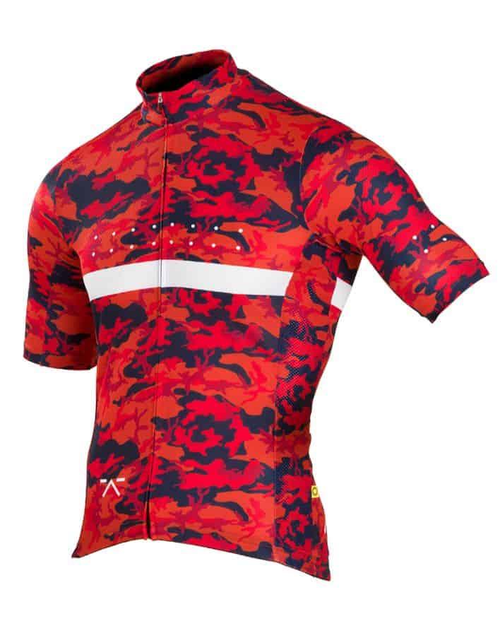 Jersey Sepeda dengan scotchlight