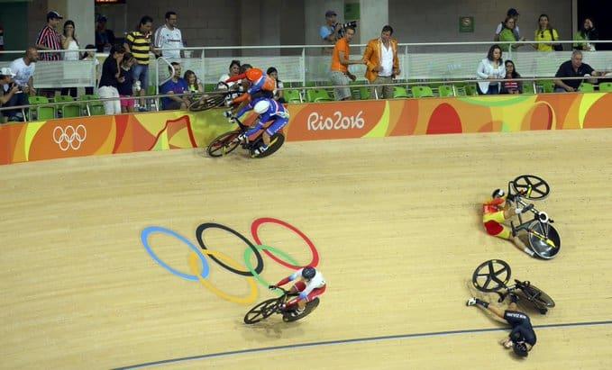 Balap sepeda olimpade velodrome
