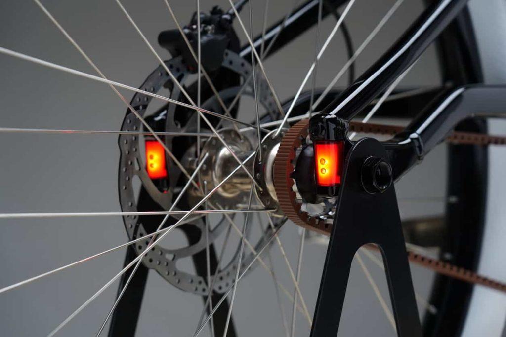 Lampu belakang sepeda listrik HD