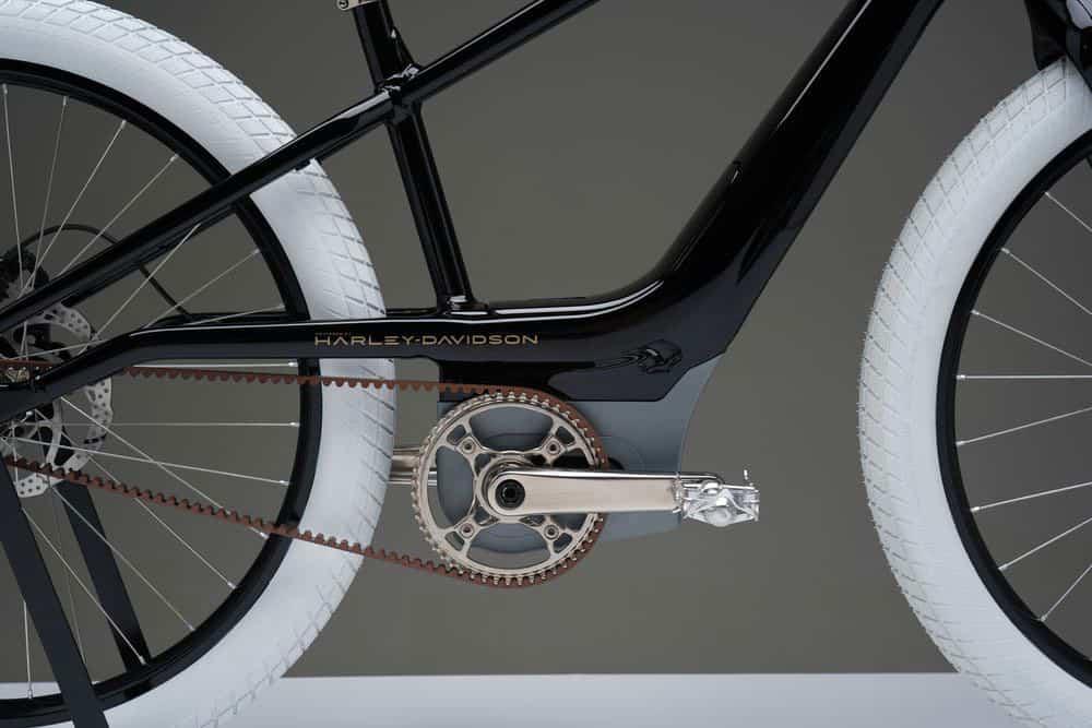 Mid Hub Motor dan drivebelt carbon