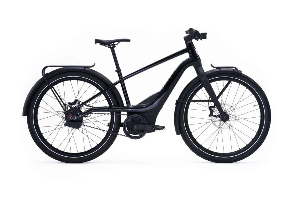 Sepeda Listrik Kota HD Rush Hitam