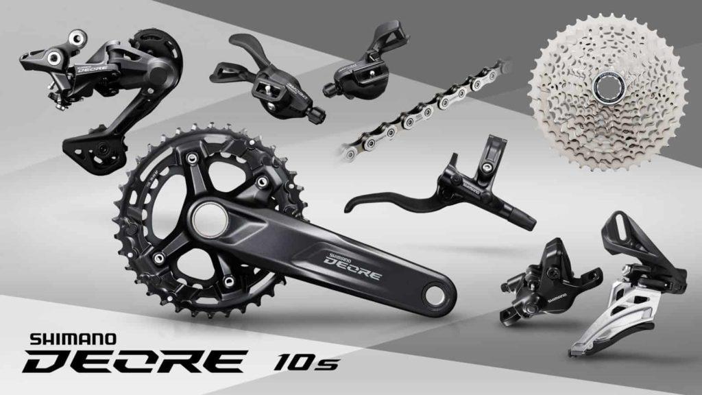 Shimano Deore 4100 10 speed dengan I-Spec