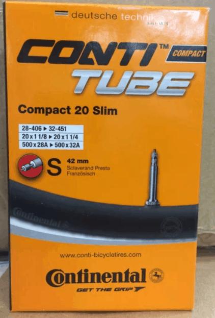 Ban dalam Continental Tube Compact untuk 406 dan 451