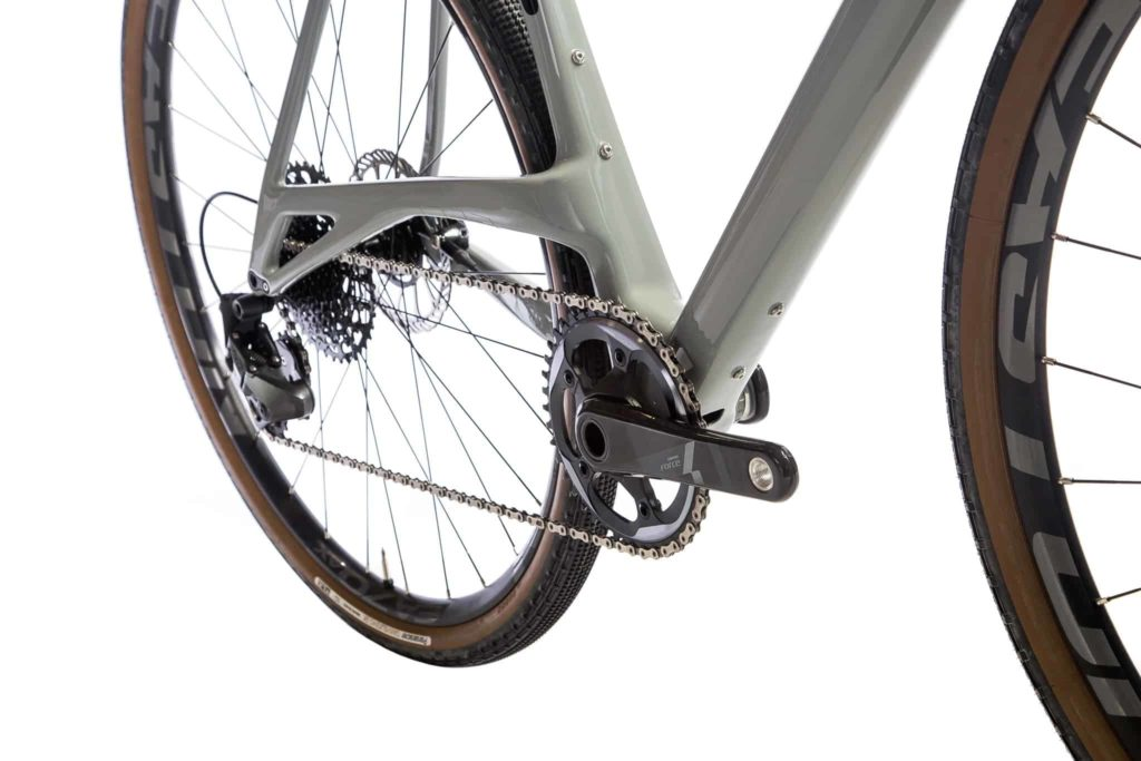 Frame Elevated Chainstay modern