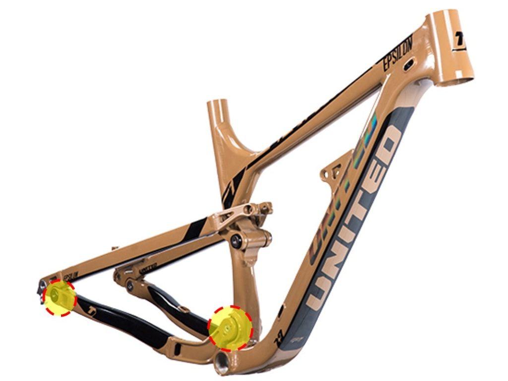 Frame Sepeda MTB Horst-link