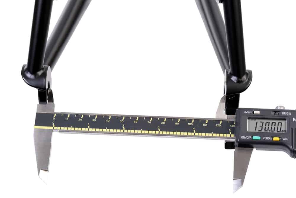 Mengukur lebar OLD rangka dan hub sepeda