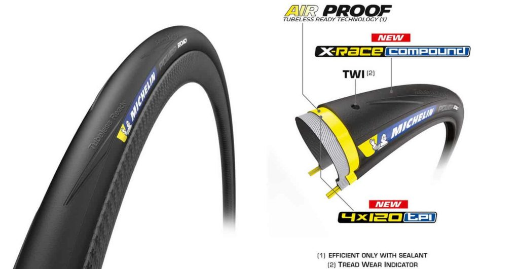 Ban Sepeda Balap Michelin Power Road TLR