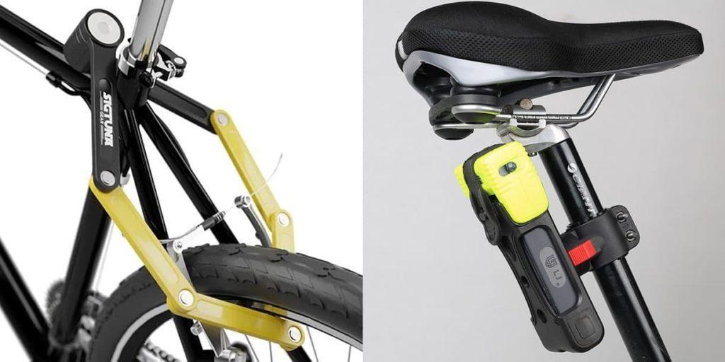 Gembok sepeda folding lock (gembok lipat)