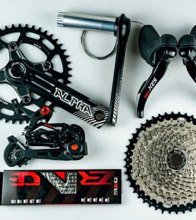 Groupset Sensah CRX Pro 11 Speed untuk sepeda gravel