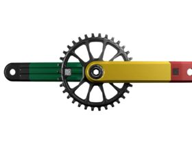 INGRID L2 Crankset Rasta Direct Mount