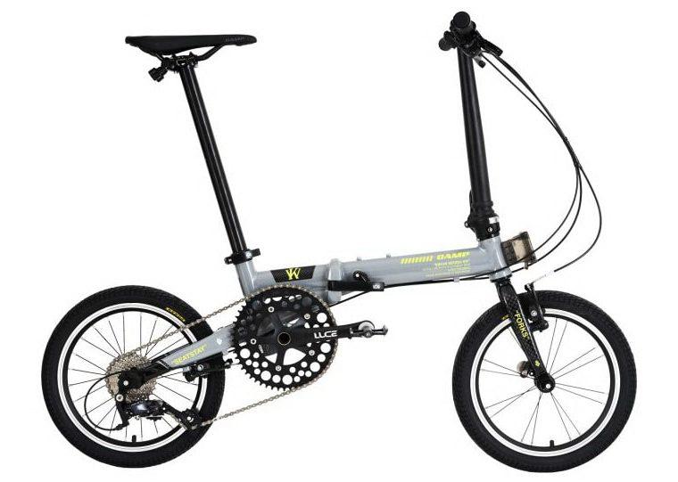"Sepeda Lipat Element Camp Hazy RR 9 speed 16"""