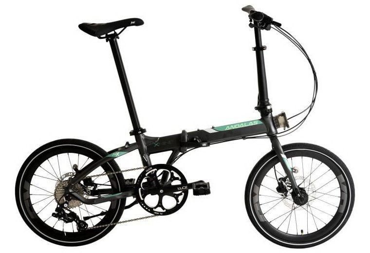 "Sepeda Lipat Element Foldx 9 speed Andalas 20"""