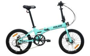 "Sepeda Lipat Element Police Texas 8 speed 20"""