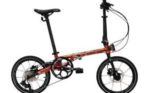 "Sepeda Lipat Element Troy X 9 speed 16"""