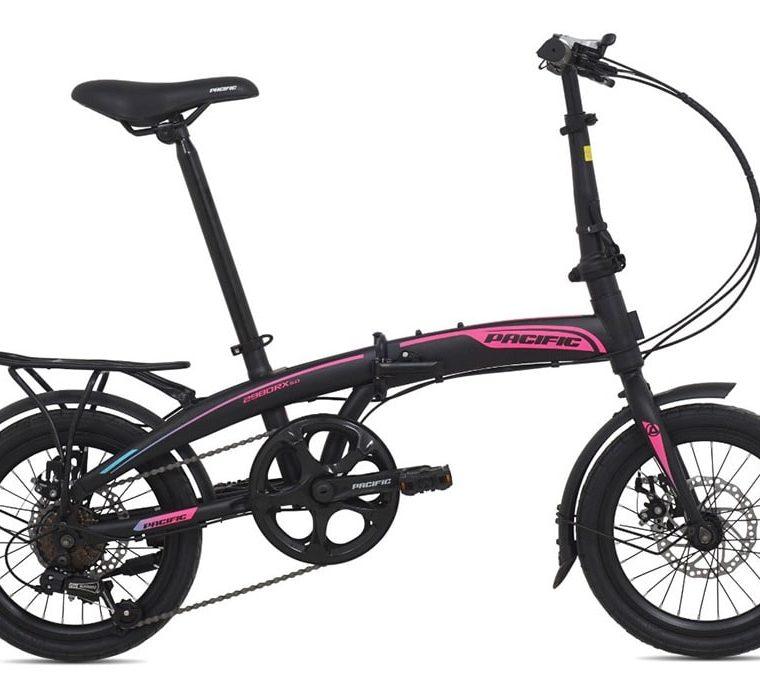 """Sepeda Lipat Seli Pacific 2980 RX 5.0 DB 16"""" 2021"""
