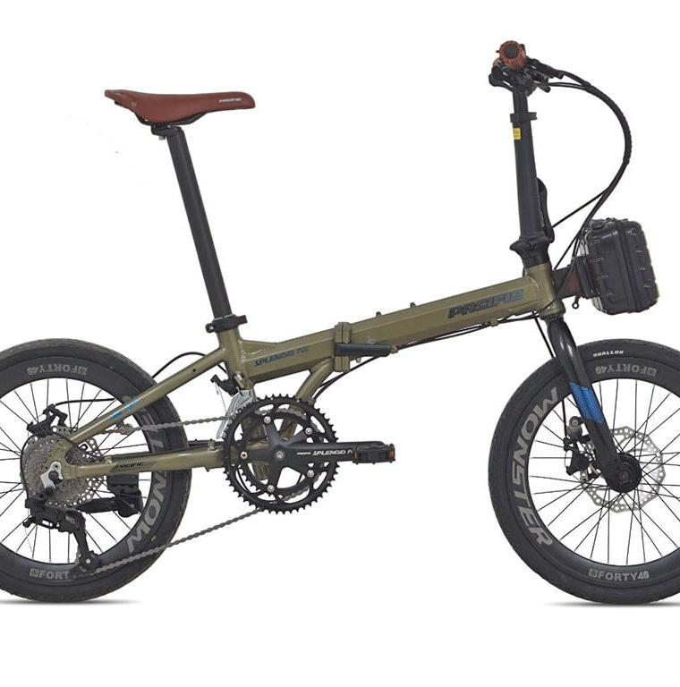 "Sepeda Lipat Seli Pacific Splendid AX 20"" 2021"