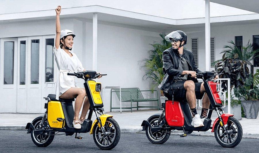 Sepeda Listrik Xiaomi A1 Pro - Scooter dengan pedal