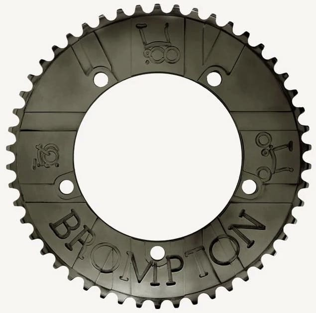 Bespoke Brompton Chainring 54T - BCD130