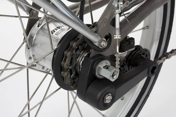 Internal hub gear 6 speed Brompton