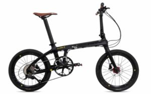 "Sepeda Lipat Pacific ILLUTION 3.5 Carbon 20"" 9 speed (2021)"