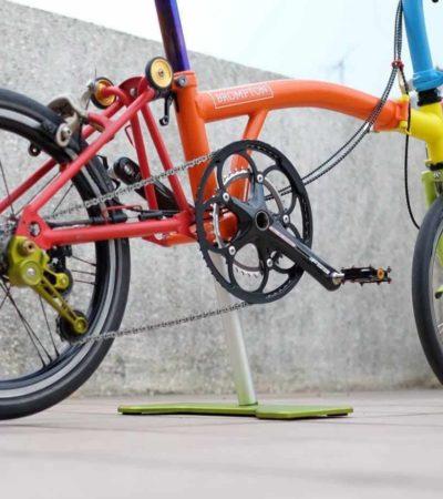 Speed dan Gearing Sepeda Lipat brompton